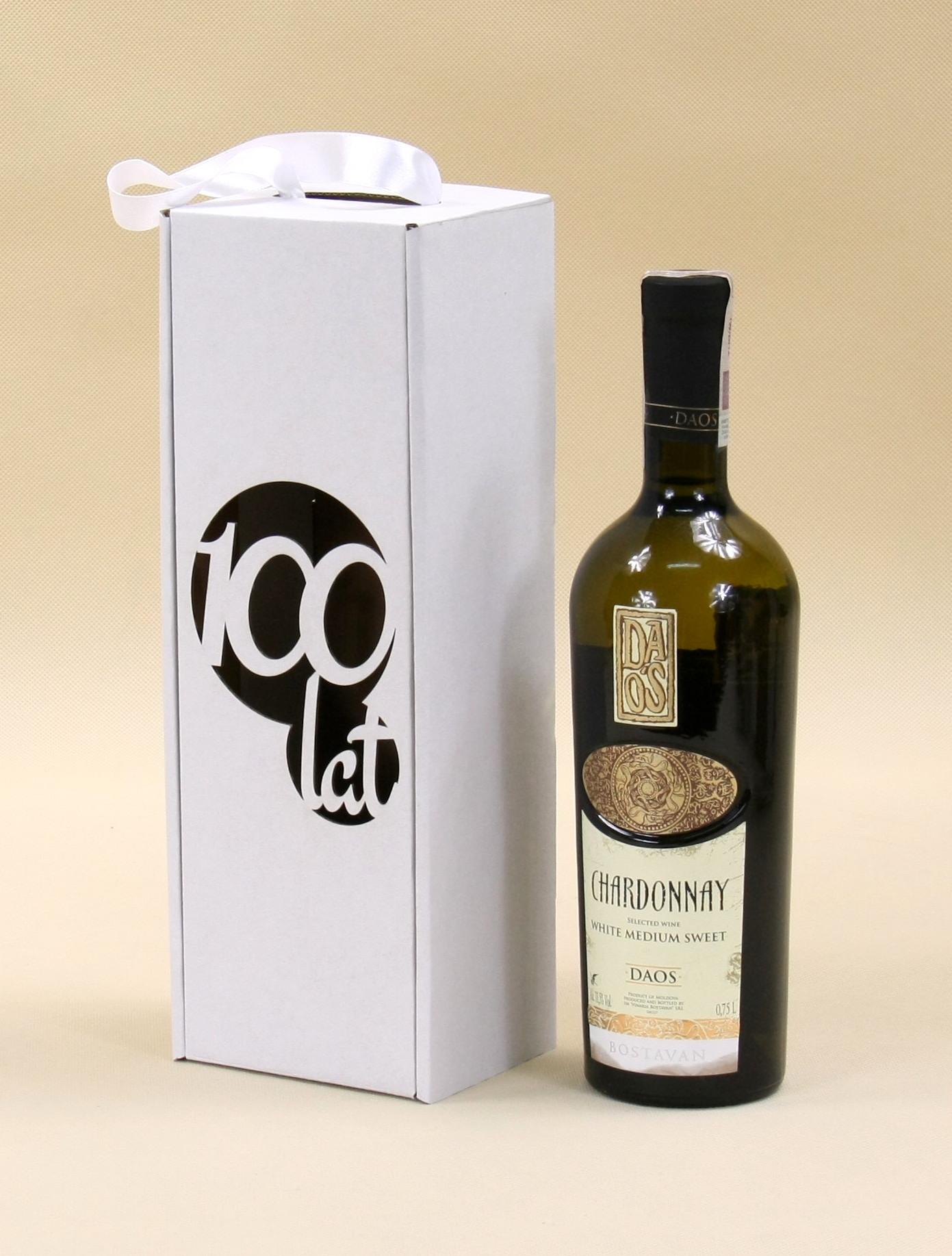 Opakowania urodzinowe na wino