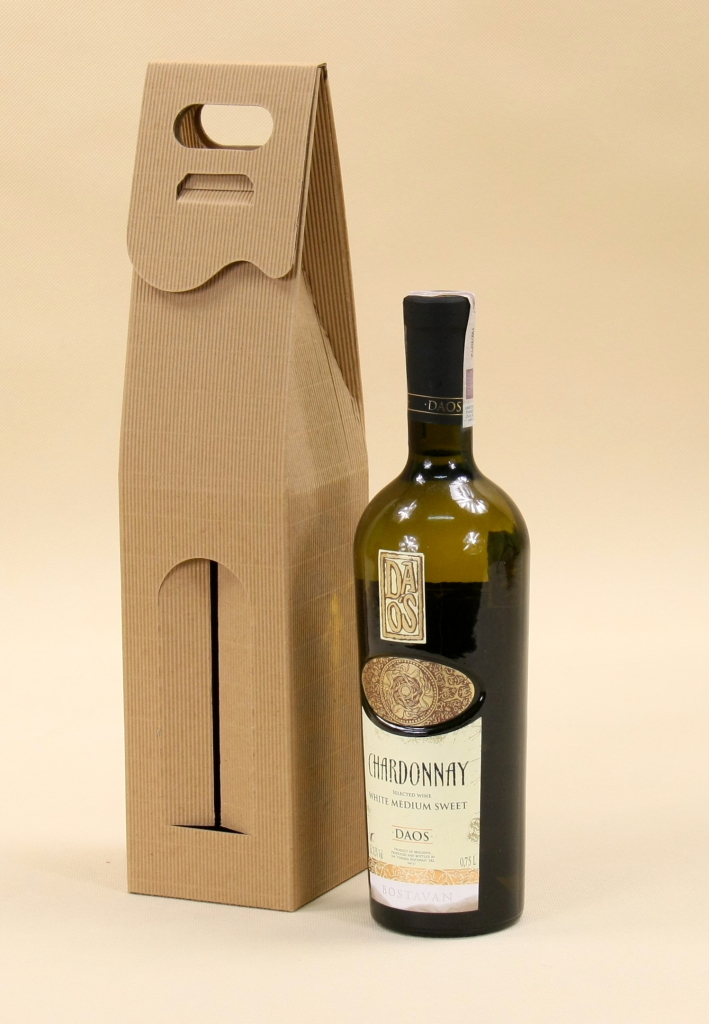pudełko na butelkę wina