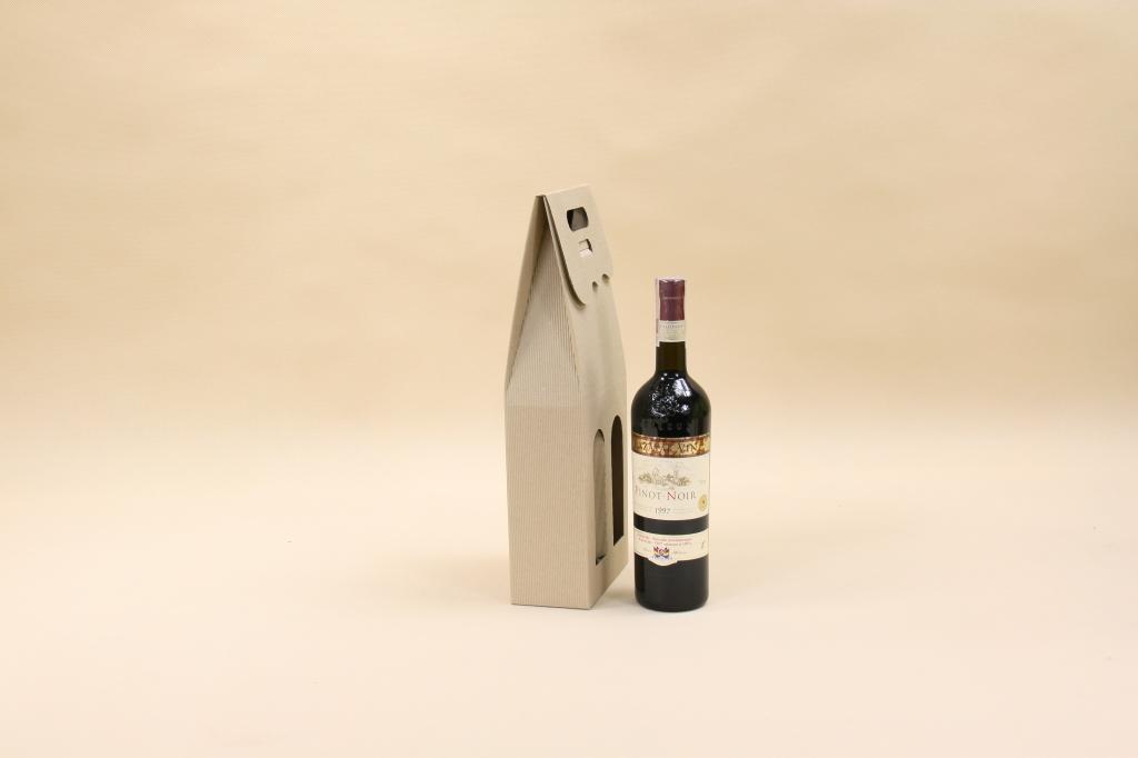 pudełka kartonowe na dwie butelki wina