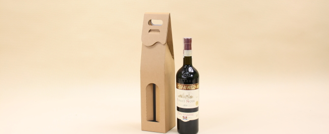 pudełko kartonowe na wino