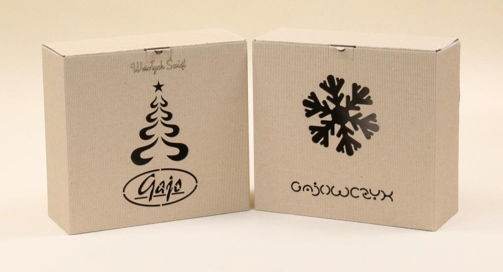 Opakowania na prezenty świąteczne