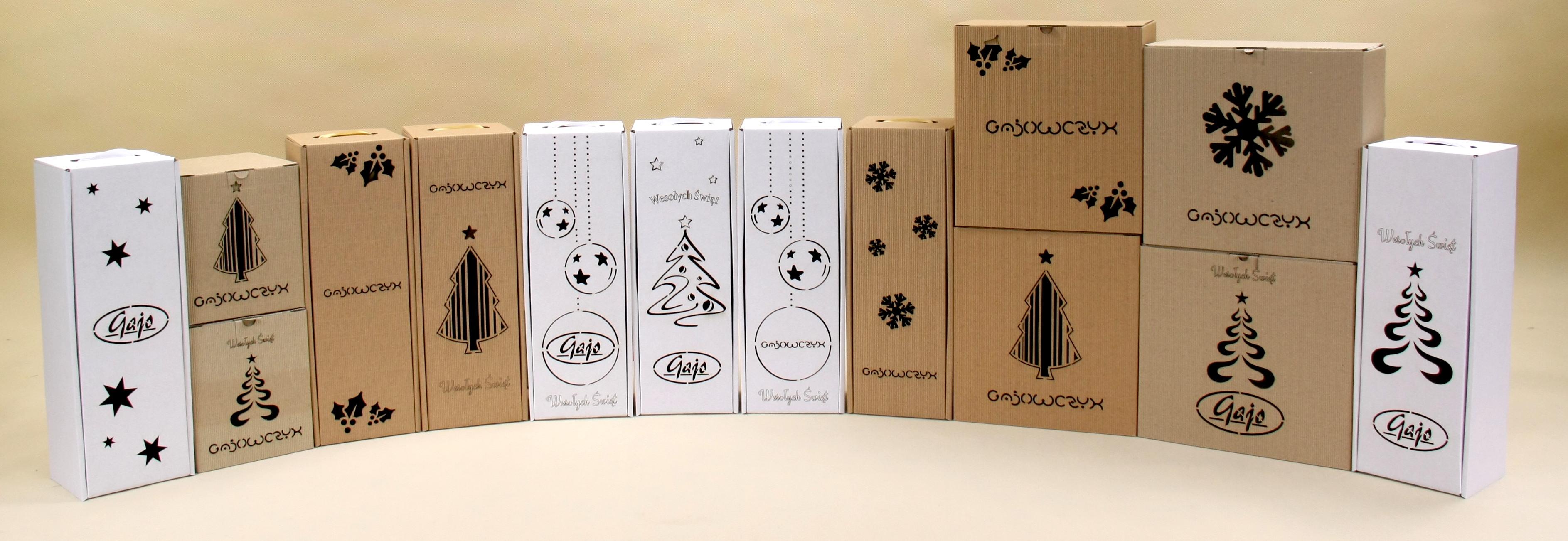 świąteczne pudełka