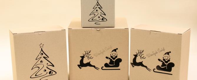pudełko na prezenty świąteczne