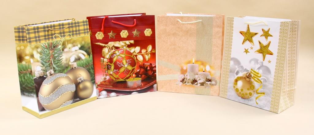 Świąteczne torebki na prezenty boże narodzenie