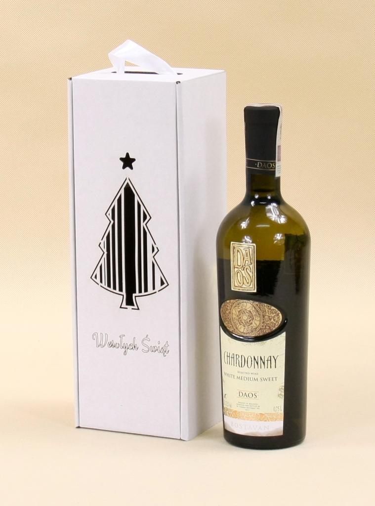 Opakowania świąteczne na wino