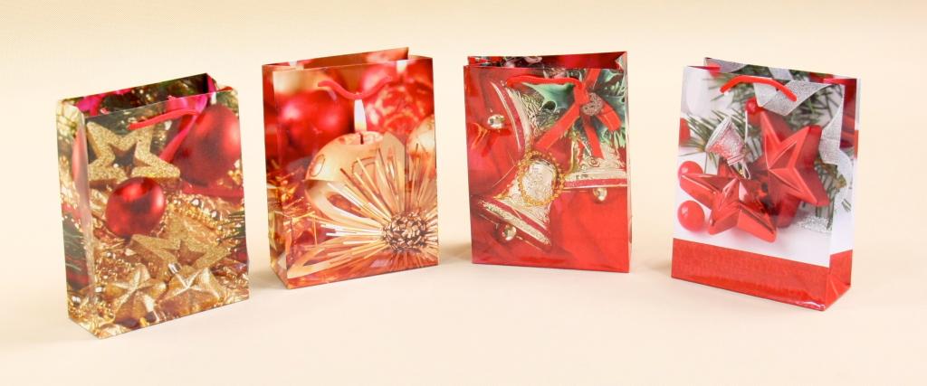 Tania torebka świąteczna na prezent - 0.70pln